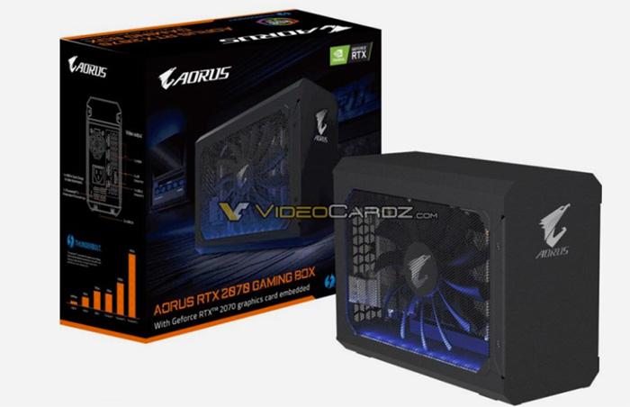 外置显卡也玩光追,技嘉将推AORUS RTX 2070 Gaming Box