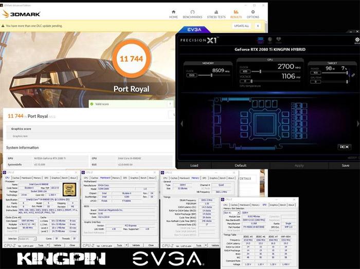 EVGA RTX 2080 Ti KINGPIN Hybrid液氮超至2.7GHz,打破超频记录-IT帮