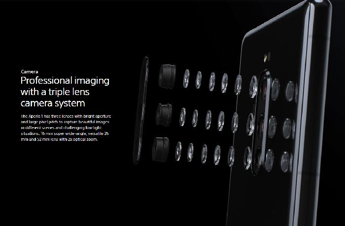 索尼Xperia 1国行发布,6299元的口袋电影院了解一下?