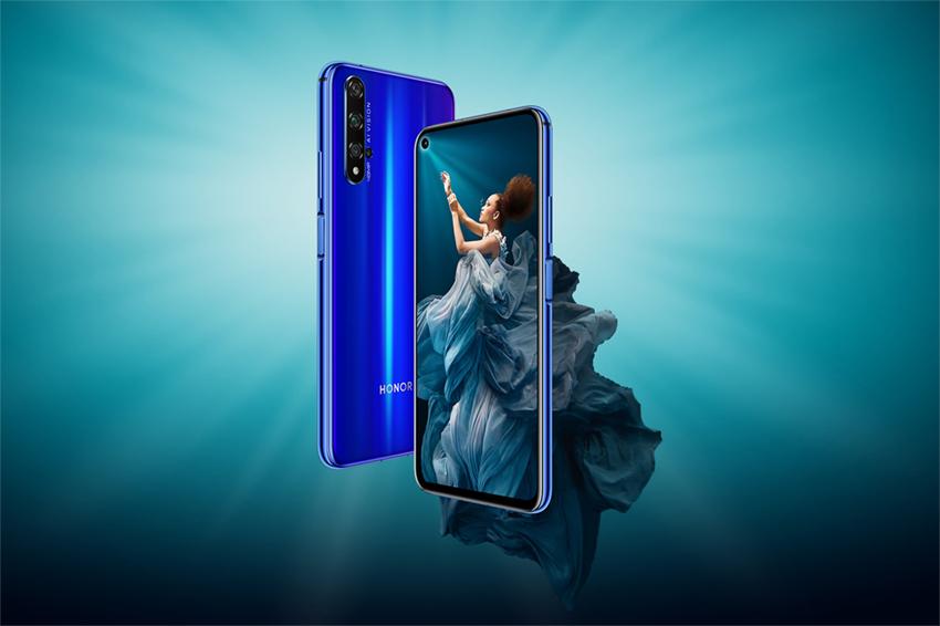 华为荣耀20、20 PRO手机发布,拍照跑分全球第二、卖499欧元起