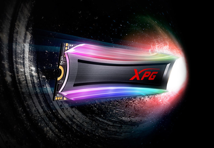 威刚发布XPG Spectrix S40G SSD,速度高达3.5GB/s,还有RGB