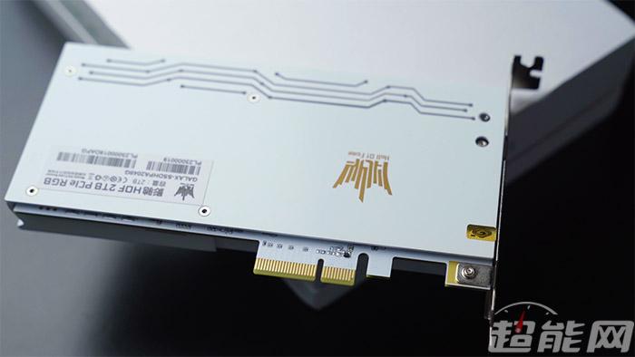 [视频]影驰HOF PCIe RGB 2TB SSD评测:外形和内在都相当优秀
